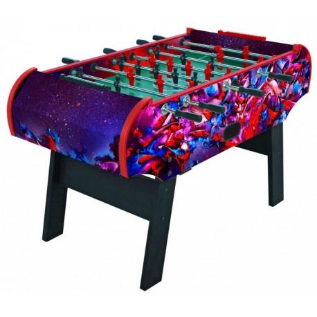 Настольный футбол (кикер) «Bayer» (152x73,5x91,5 см, цветной)