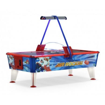 Аэрохоккей «Ice & Fire Gold» 8 ф (красно-синий-золотой, купюроприемник)