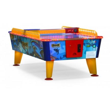 Всепогодный аэрохоккей «Shark» 8 ф (238 х 128 х 83 см, цветной, купюроприемник)