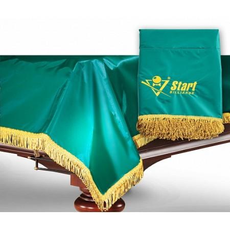 Покрывало для бильярдного стола (9 футов, обрамленное бахрамой)