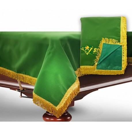 9 футов, зеленый бархат