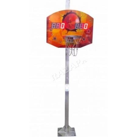 Баскетбольный щит на стойке