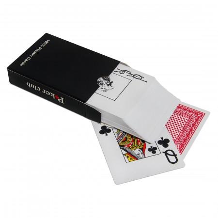 Карты игральные покерные poker club красная рубашка