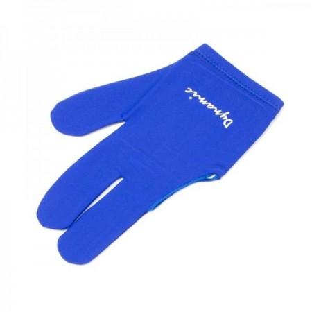 Перчатка бильярдная «Dynamic Pro» (синяя)