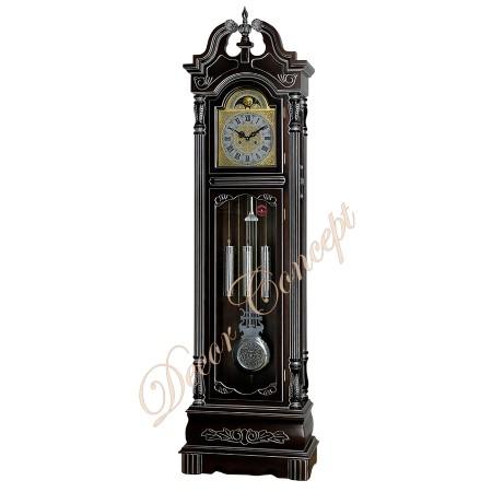 Напольные часы Columbus «Черный лебедь» silver