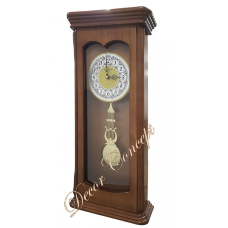 Деревянные настенные часы Columbus  с маятником и боем