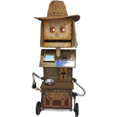 Развлекательно-обучающий робот Кузя (конфетоносец)