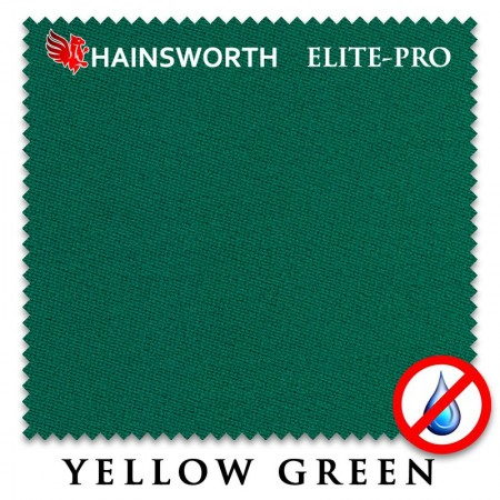 Сукно hainsworth elite pro waterproof 198см yellow green