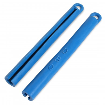 Держатель для кия резиновый синий 195мм