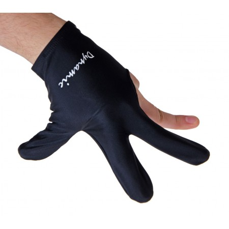 Перчатка бильярдная «Dynamic Pro» (черная)
