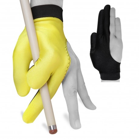 Перчатка Fortuna Classic Желтая/Черная XL