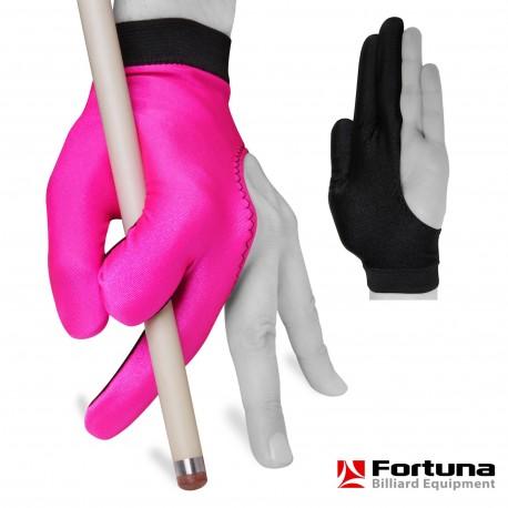 Перчатка Fortuna Classic Розовая/Черная XL