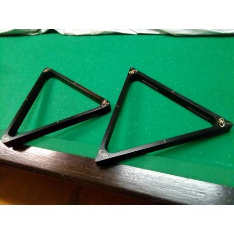 """Треугольник Каюков """"Черный Граб"""" 60 мм- резьба, подарочный"""