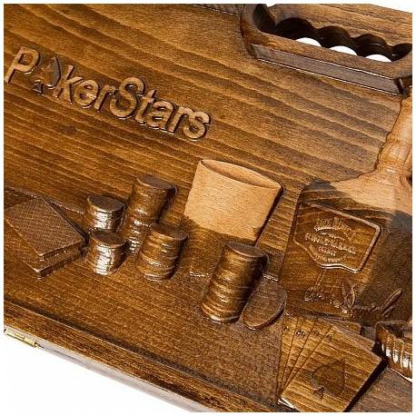 Кейс для покера Poker Stars на 300 фишек