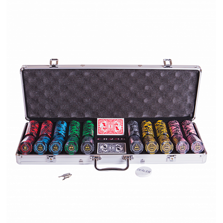 Набор для покера Lux на 500 фишек