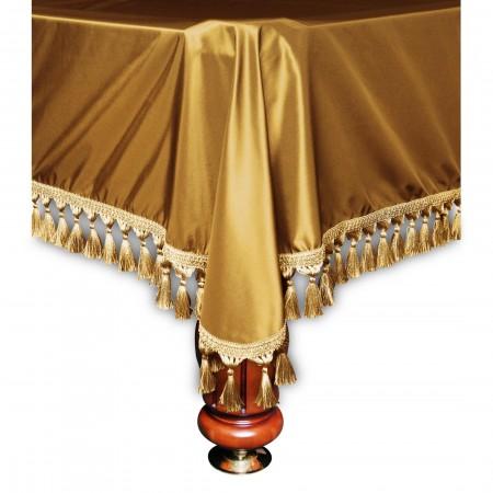 Покрывало Венеция 9фт шёлк тёмное золото
