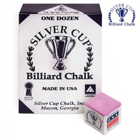 МЕЛ SILVER CUP PINK 12ШТ.