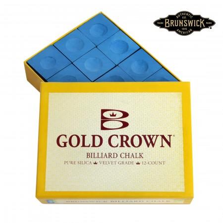 МЕЛ BRUNSWICK GOLD CROWN BLUE 12ШТ.