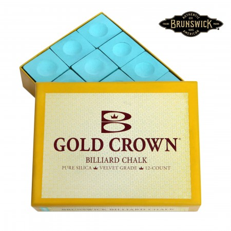 МЕЛ BRUNSWICK GOLD CROWN GREEN 12ШТ.