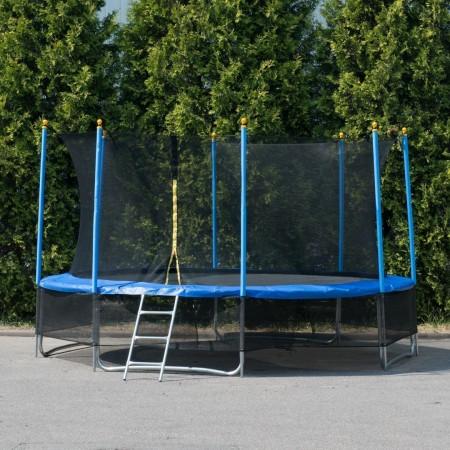 """Батут """"Winner Classic"""" (14 футов / 424 см, верхняя + нижняя защитные сетки и лестница в комплекте)"""