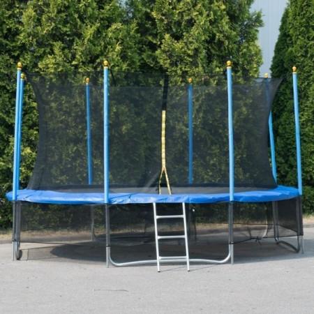 """Батут """"Winner Classic"""" (10 футов / 306 см, верхняя + нижняя защитные сетки и лестница в комплекте)"""
