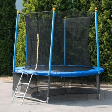 """Батут """"Winner Classic"""" (8 футов / 244 см, верхняя + нижняя защитные сетки и лестница в комплекте)"""